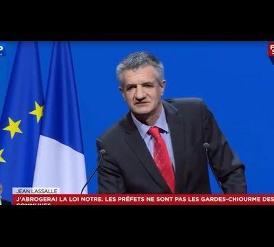 Jean Lassalle électrise le Congrès de l'association des maires