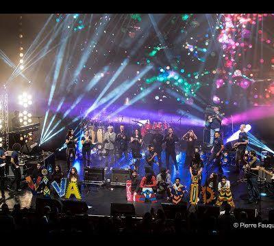 ROCKAWAY à l'Olympia pour l'association Premiers De Cordée (12/11/17)