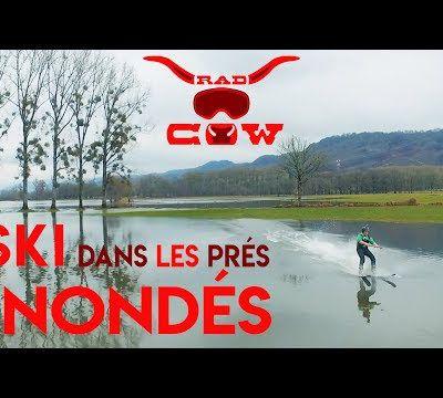 [RadCow] Ski dans les prés inondés à Yolet
