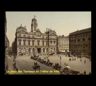 Lyon et Tassin en 1900