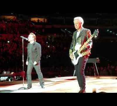U2 -Joshua Tree Tour 2017-Indianapolis Etats-Unis 10/09/2017