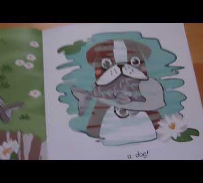 Boxer and the fish, album en anglais (English cupcake)
