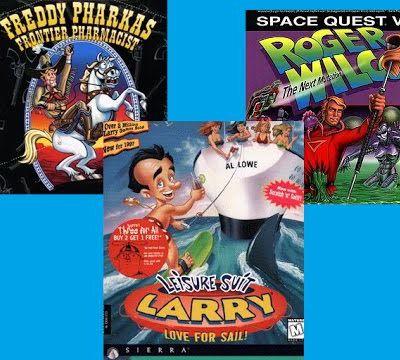 Les personnages décalé des jeux d'aventure made in sierra par Nostalgeek