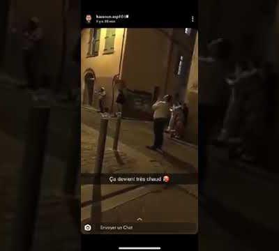 Perpignan / Coronavirus/ vidéo: scéne de crise mystique chez les gitans de St jacques, aux fenêtres et dans la rue on en appelle à Dieu! par Nicolas Caudeville