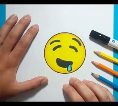 Como dibujar un Emoji paso a paso 13