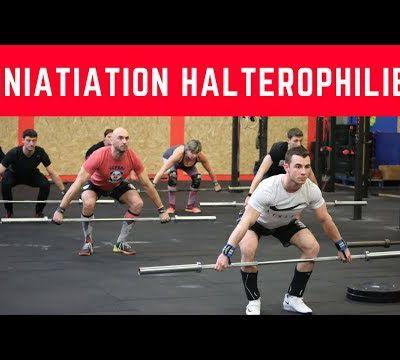 Initiation à l'haltérophilie chez CrossFit Samarobriva avec Timoté Guillouet