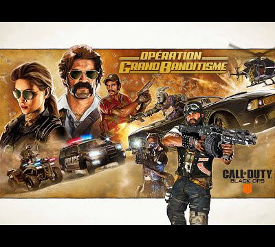 [ACTUALITE] Call of Duty: Black Ops 4 - L'Opération Grand banditisme arrive