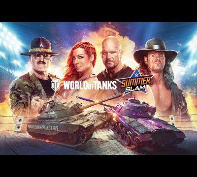 [ACTUALITE] World of Tanks Console - Le SummerSlam avec la WWE