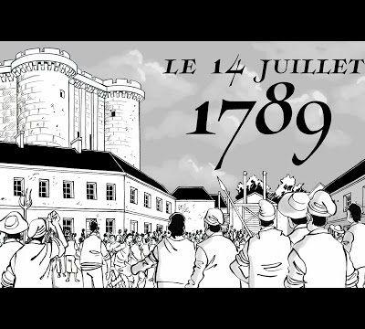 """14 juillet  1789  ,un premier pas vers plus  d""""égalite  mais gardons la tête froide ..."""