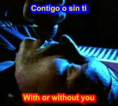 "U2: ""With or without you"""