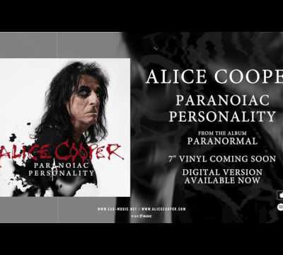 """Song of 2017 #16 : """"Paranoiac Personality"""" par Alice Cooper"""