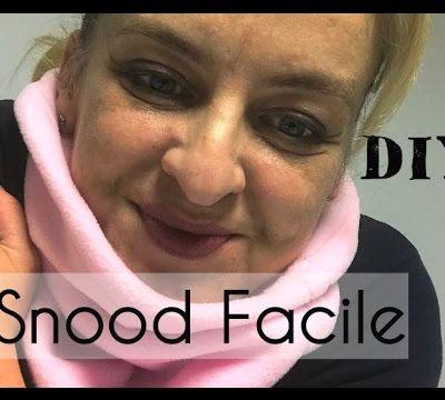 Snood Facile - Tuto Vidéo Couture DIY