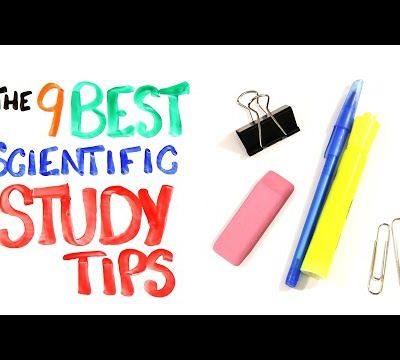 Neuroeducation : 9 Tips to study more efficiently.