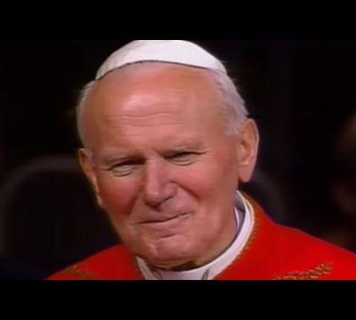 Bonne soirée en compagnie de St Jean-Paul II