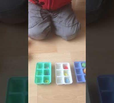 Exercice de reconnaissance des couleurs et des formes