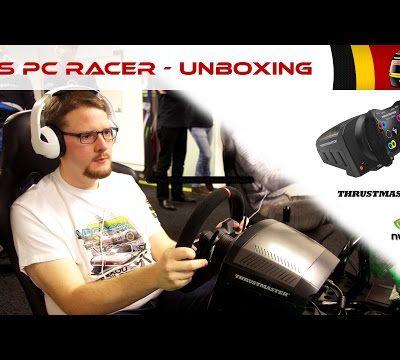 Thrustmaster TS PC Racer - Unboxing & présentation du nouveau volant