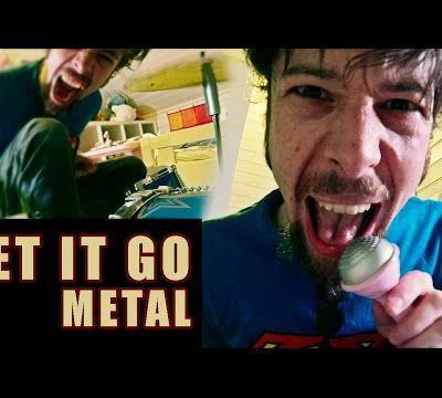Let It Go - from Frozen (metal cover by Leo Moracchioli