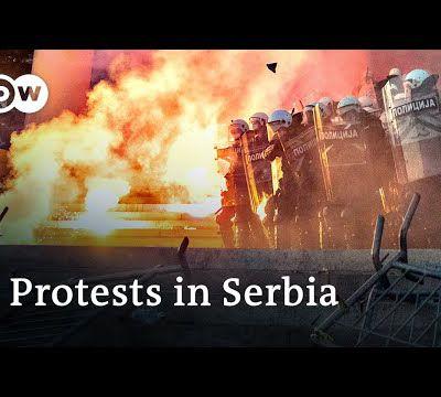 COVID-19/BELGRADE. Manifestations  violentes à Belgrade contre le gouvernement pour sa manière d'utiliser pandémie pour  réaliser des élections à son profit  (en anglais)