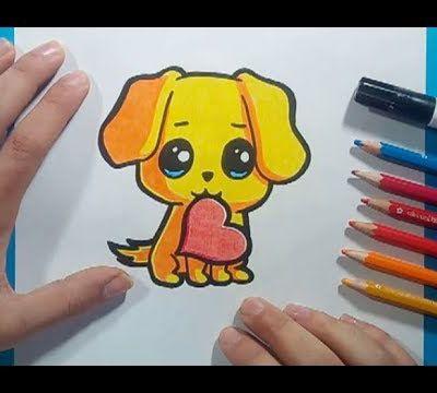 Como dibujar un perro paso a paso 50
