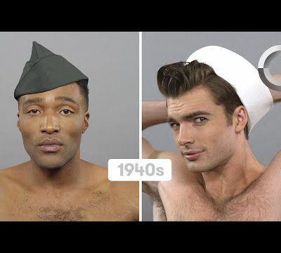 USA Hommes (Lester & Samuel) - 100 ans de beauté masculine