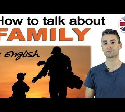 Talking About Your Family