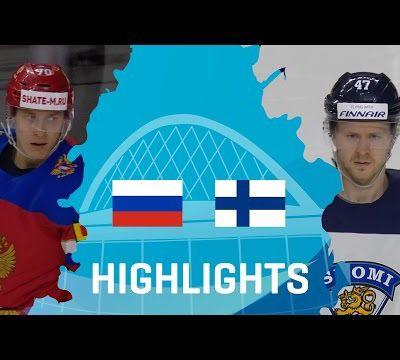 IIHF Worlds 2017 - Russia - Finland - Bronze Medal - 21/05/2017. (2 videos)