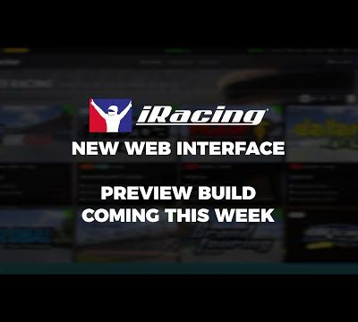 iRacing - Nouvelle interface cette semaine.