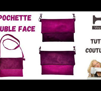 Coudre une pochette Double Face - Tuto Couture Débutant - DIY