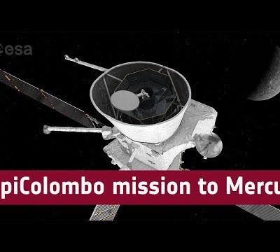 BepiColombo mission to Mercury #BepiColombo