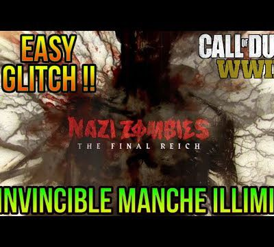 Glitch / Zombie Final Reich ww2 : comment être invincible?
