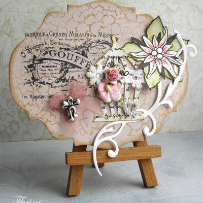 fleurs & papillons en scrap