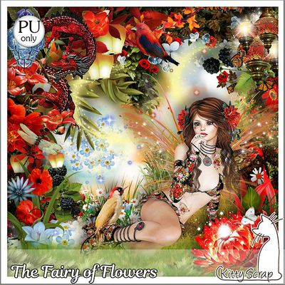 """THE FAIRY OF FLOWERS"" de Kittyscrap"