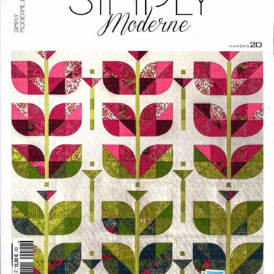 Magazines d'avril 2020: Simply Moderne, Magic Patch Quilts Japan