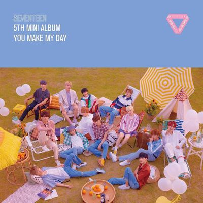 Download [5th Mini Album] SEVENTEEN – YOU MAKE MY DAY (Mp3)