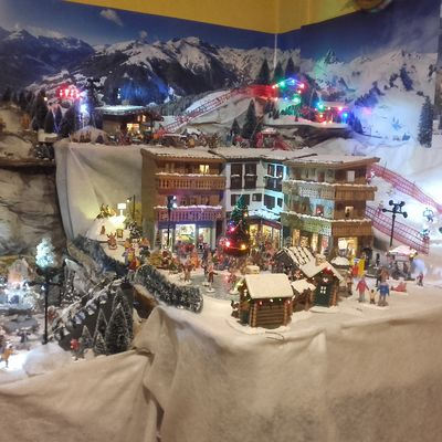 VILLAGE MINIATURE  DE GIGI & GUITOU