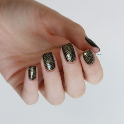 Nail Art Reptile