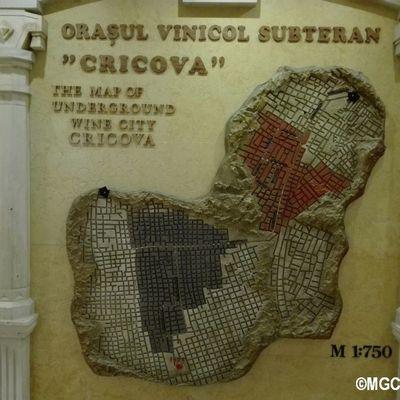Cricova la città del vino sotterranea in Moldavia