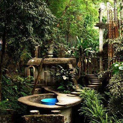Las Pozas la città incantata nella foresta del Messico