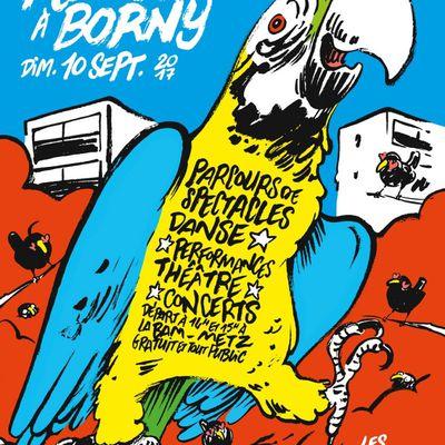 Metz Flâneries à Borny #3  le 10 septembre