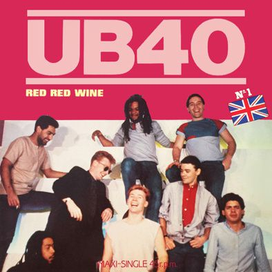 UB40 - RED RED WINE - MAXI VINILO - 1983
