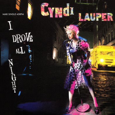CYNDI LAUPER - I DROVE ALL NIGHT - MAXI VINILO - 1989