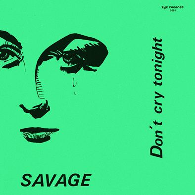 SAVAGE - DON'T CRY TONIGHT - MAXI VINILO - 1983