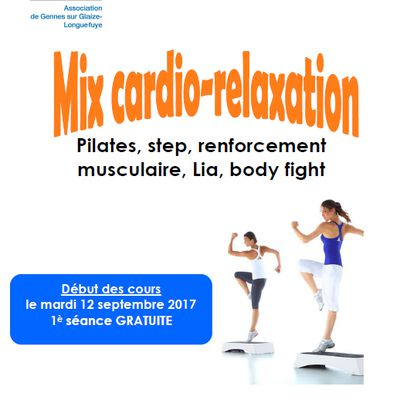 Message de Familles rurales : mix cardio-relaxation