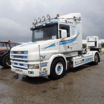Camion Tracteur TRR SCANIA V8