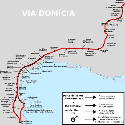 La Via domitia