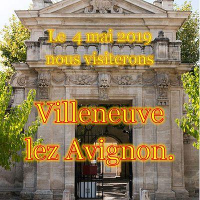 Le 4 mai nous avons visité Villeneuve lez Avignon