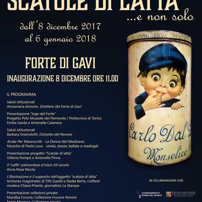 FORTE DI GAVI – MOSTRA SCATOLE DI LATTA E NON SOLO