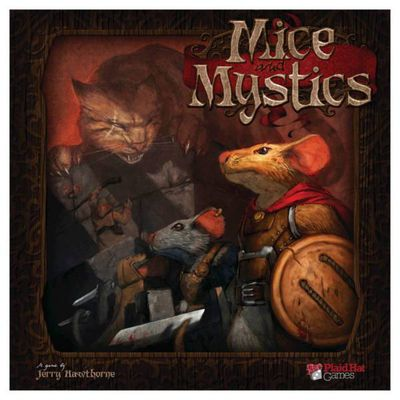 Mice & Mystics de Jerry Hawthorne et Mr Bistro (2012 - Editions Filosofia)