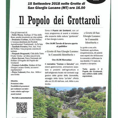 15/09/2018 nelle Grotte a San Giorgio Lucano