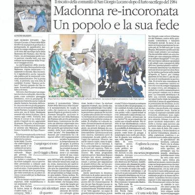 Madonna re-incoronata, un popolo e la sua fede